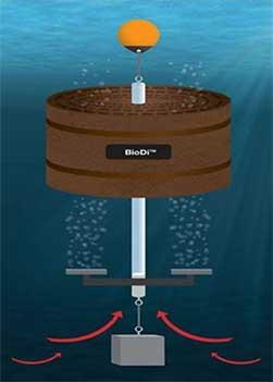 Digester Under Water Graphic